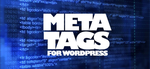 meta tags for wordpress